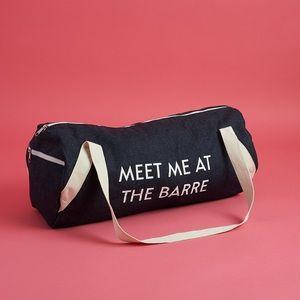 Fabfitfun Meet me at the Barre Gym Bag